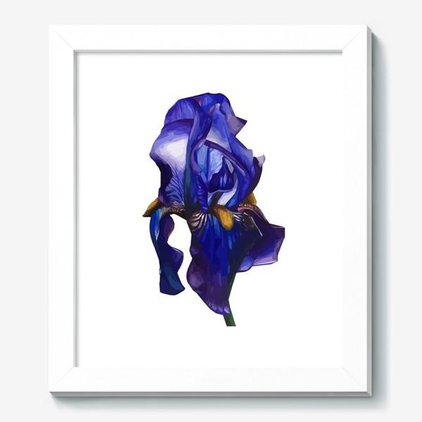 Картина «Синий Ирис»