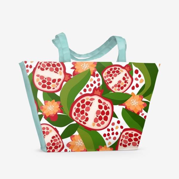 Пляжная сумка «Гранаты»