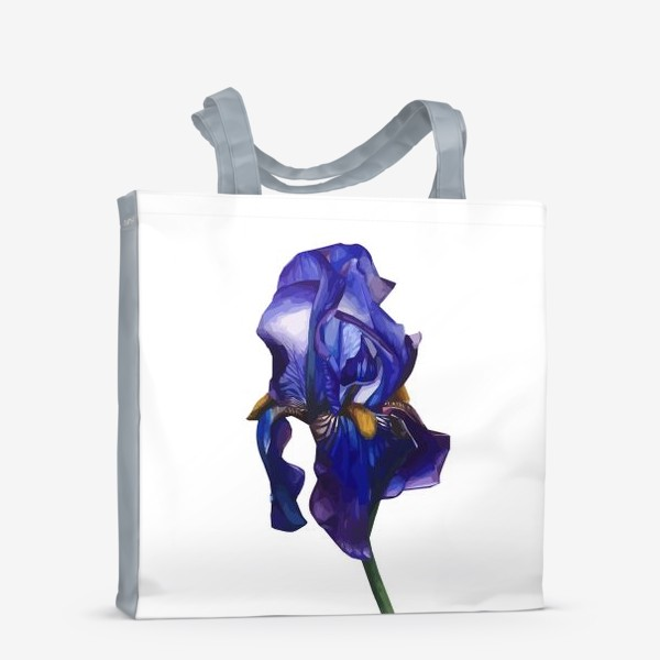 Сумка-шоппер «Синий Ирис»