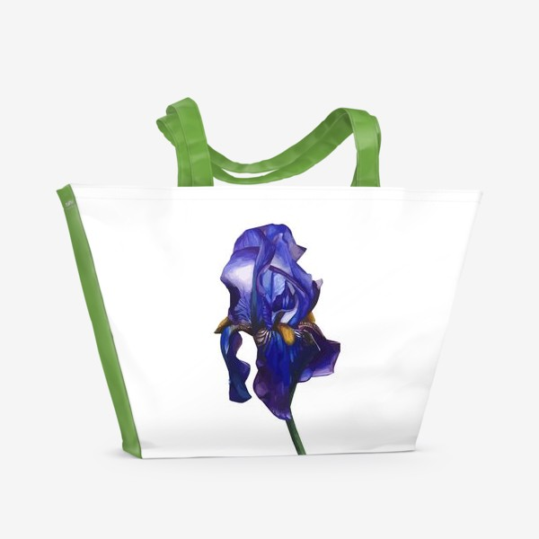 Пляжная сумка «Синий Ирис»