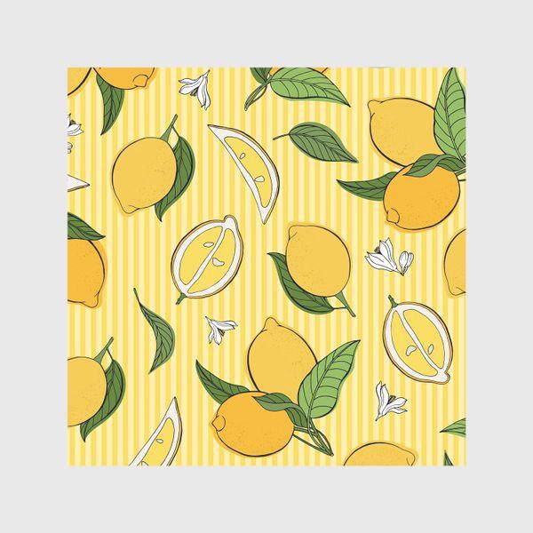 Скатерть «Який принт с лимонами»