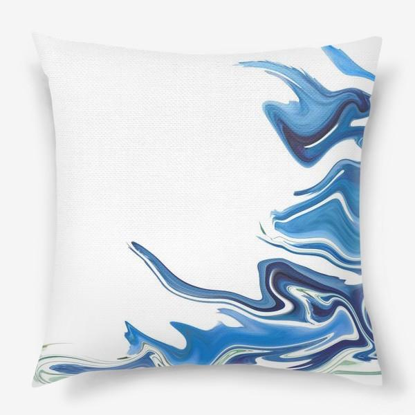 Подушка «Волны»