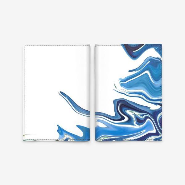 Обложка для паспорта «Волны»