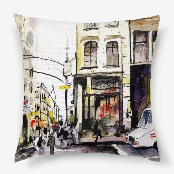 Подушка «город»