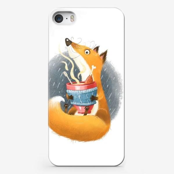 Чехол iPhone «Лис и бульон»