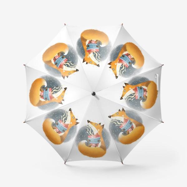 Зонт «Лис и бульон»