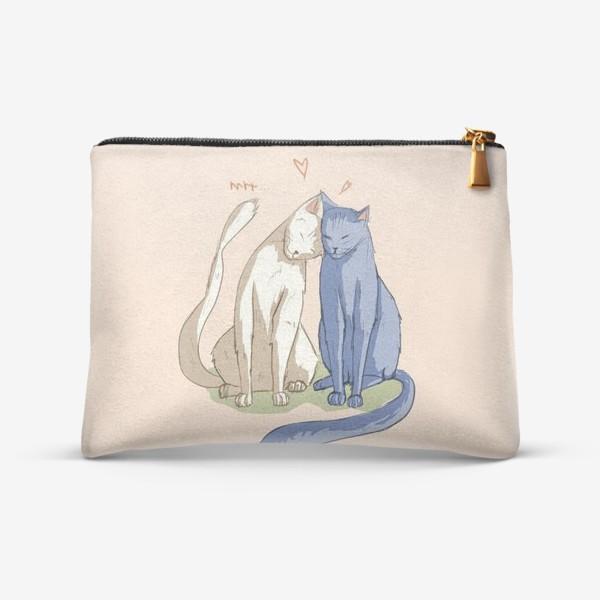 Косметичка «Влюбленные Коты»