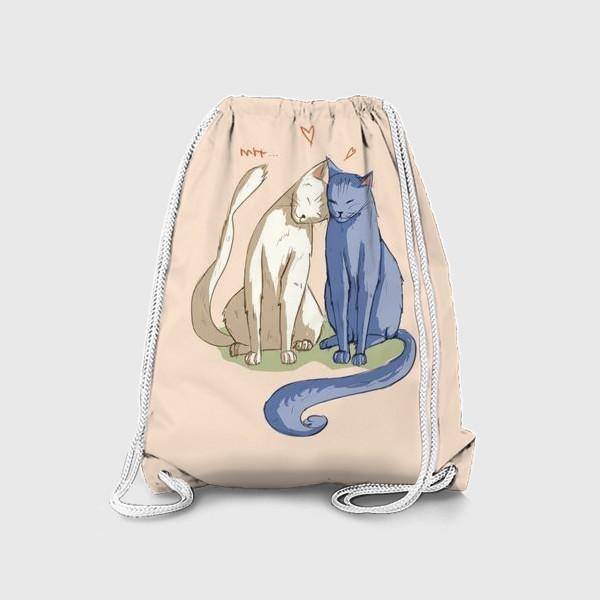 Рюкзак «Влюбленные Коты»