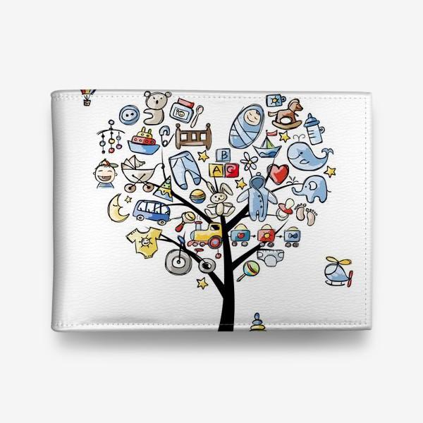 Кошелек «Дерево с игрушками»