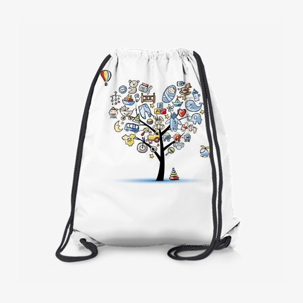 Рюкзак «Дерево с игрушками»