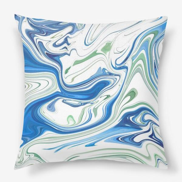 Подушка «Весенние ручьи»