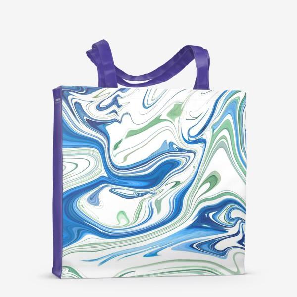 Сумка-шоппер «Весенние ручьи»