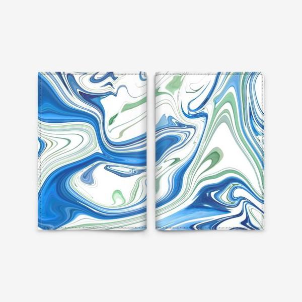 Обложка для паспорта «Весенние ручьи»