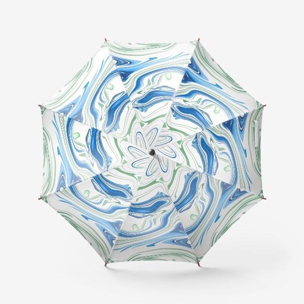 Зонт «Весенние ручьи»