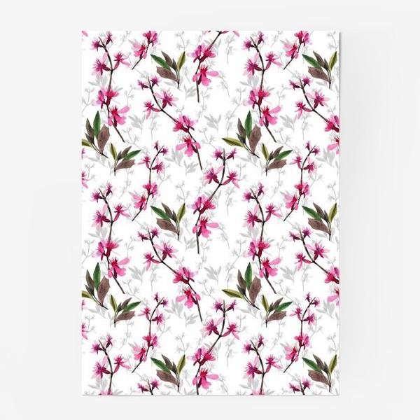 Постер «Pink flowers»