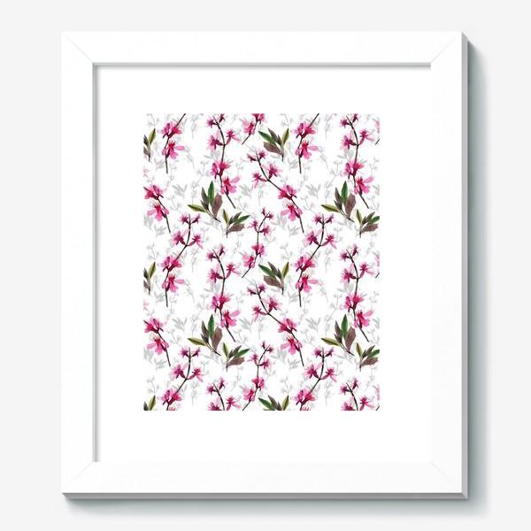 Картина «Pink flowers»