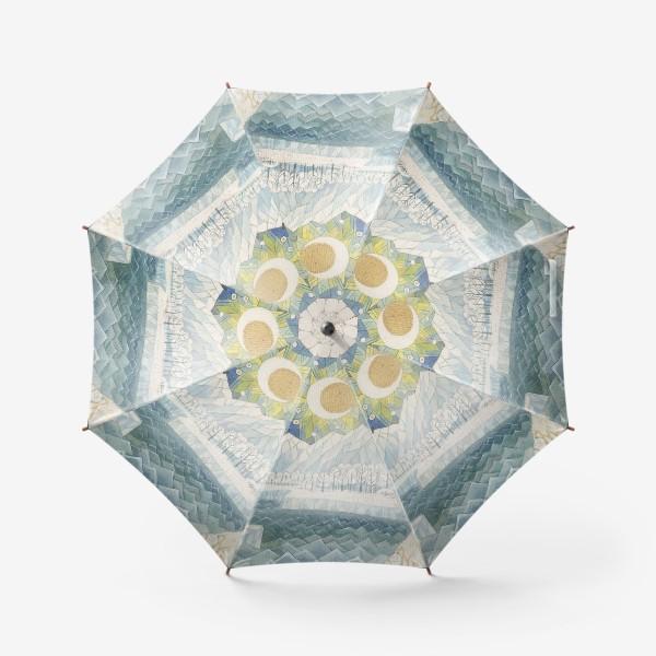 Зонт «северное сияние»