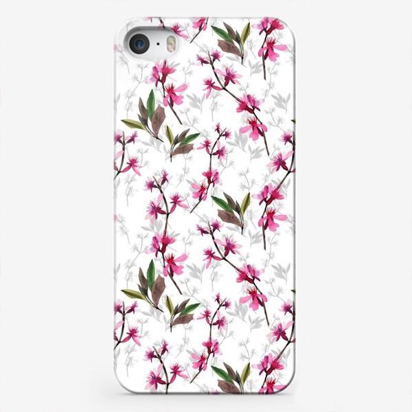 Чехол iPhone «Pink flowers»