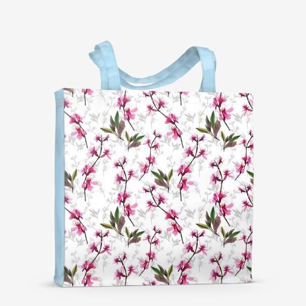 Сумка-шоппер «Pink flowers»