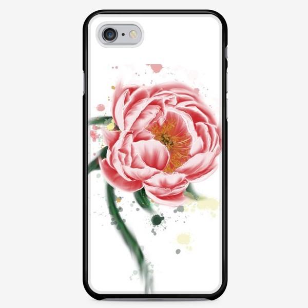 Чехол iPhone «Пион»