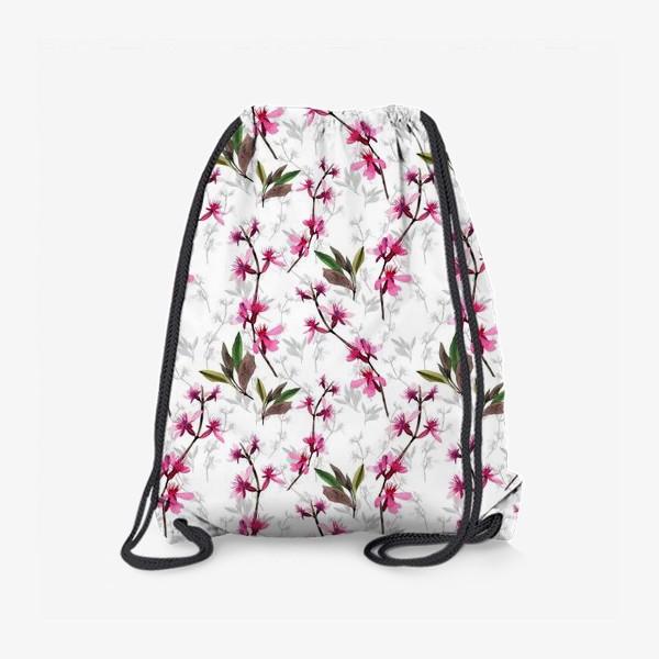Рюкзак «Pink flowers»