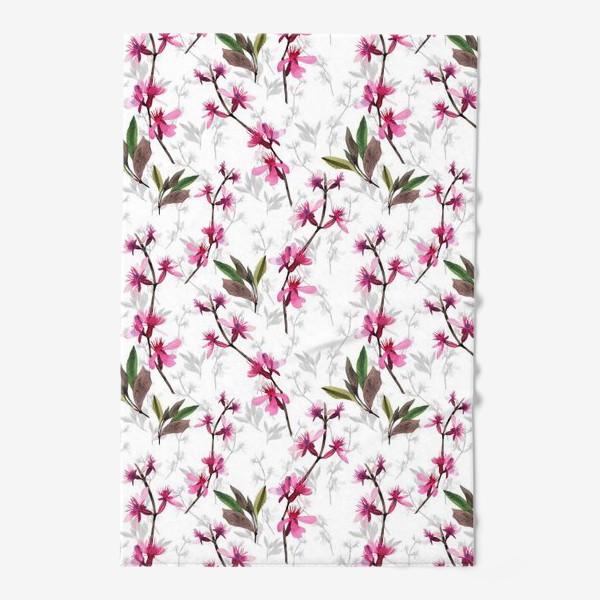 Полотенце «Pink flowers»