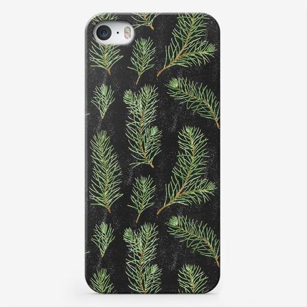 Чехол iPhone «Еловые веточки»