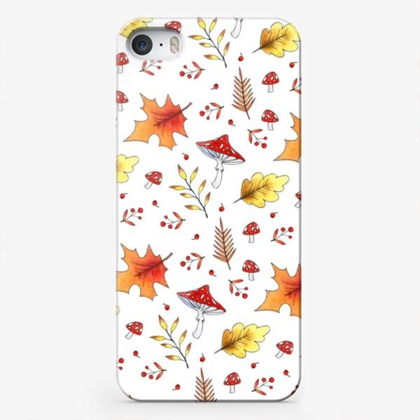 Чехол iPhone «Осенние мухоморы»