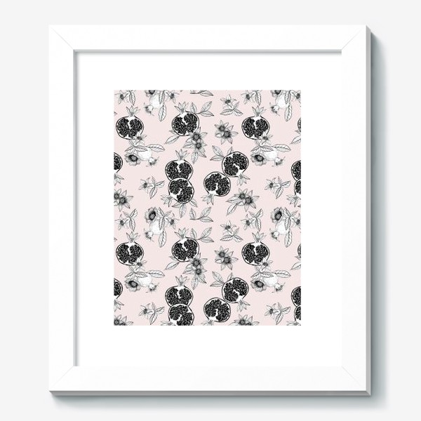 Картина «Гранаты: цветы и фрукты»