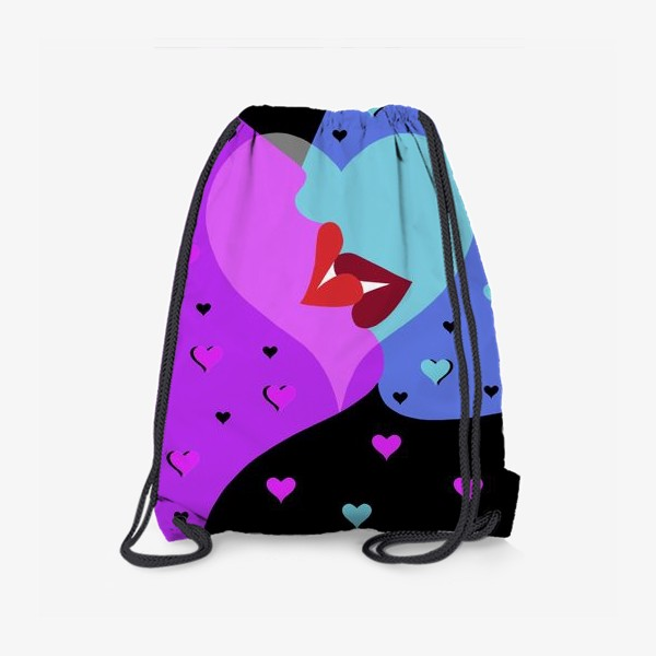 Рюкзак «Поцелуй»