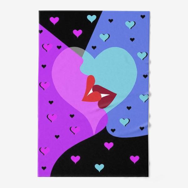 Полотенце «Поцелуй»
