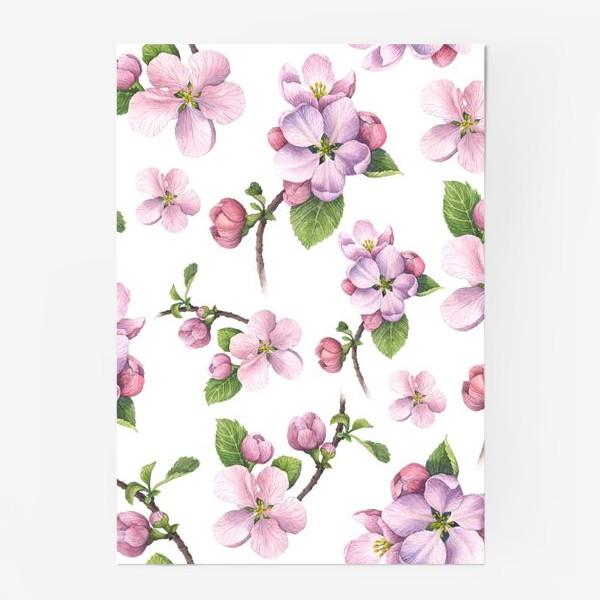 Постер «Цветение яблони»
