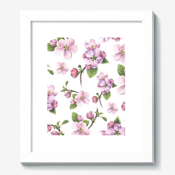 Картина «Цветение яблони»