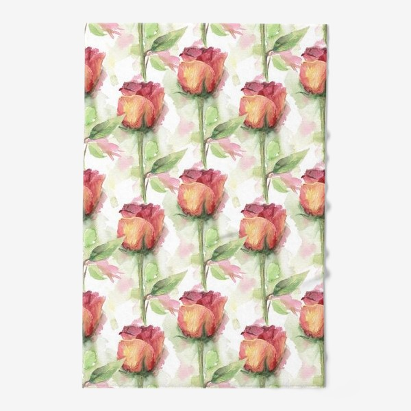 Полотенце «Розовые розы»
