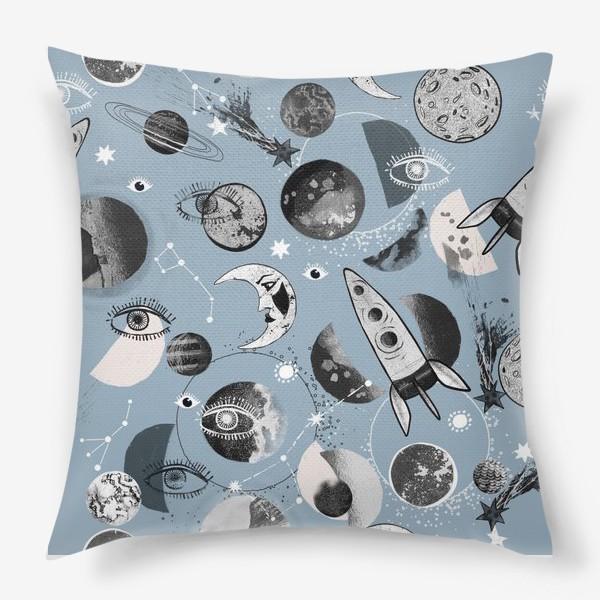 Подушка «Космический паттерн.»