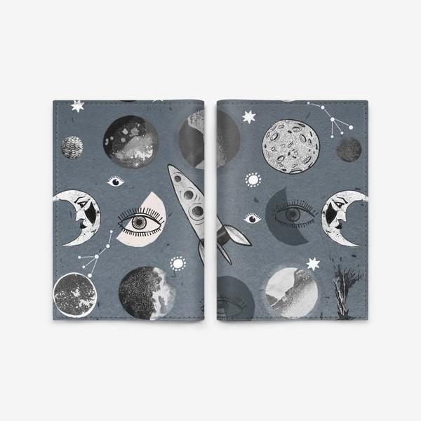 Обложка для паспорта «Космос.»