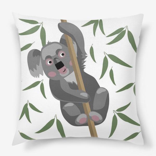 Подушка «Коала на ветке»