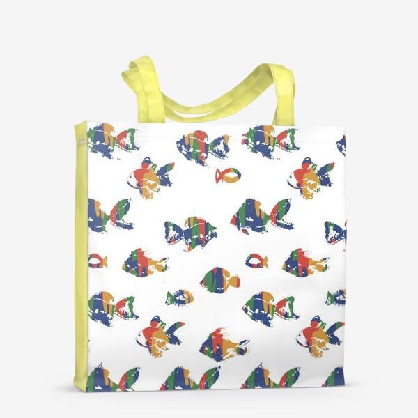 Сумка-шоппер «Рыбки»
