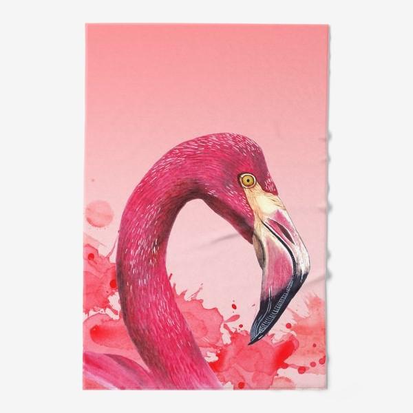 Полотенце «Розовый фламинго»
