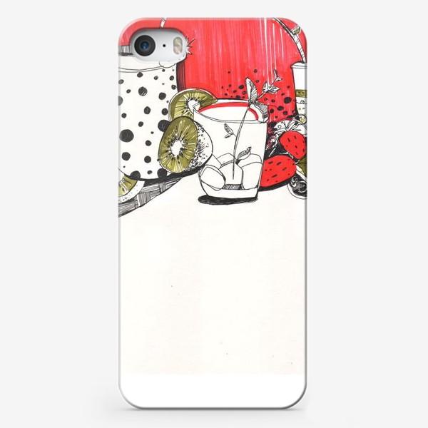 Чехол iPhone «Утренний коктейль»