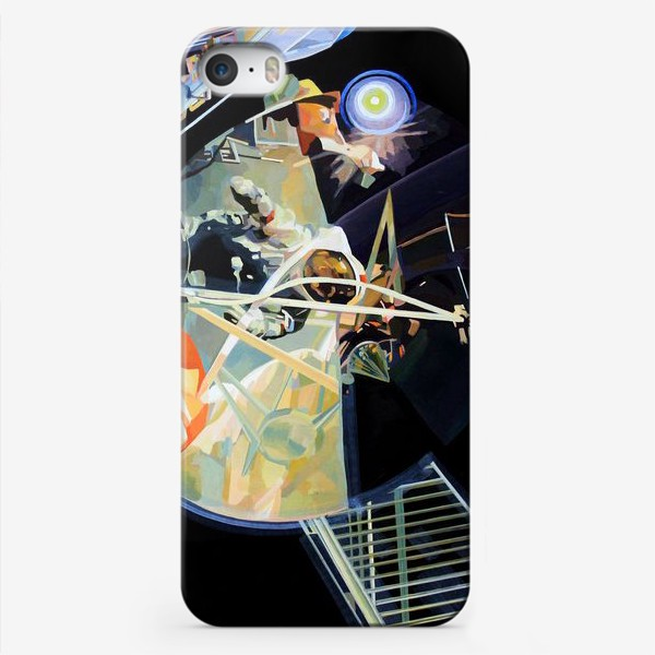 Чехол iPhone «Освоение космоса, лист №3»
