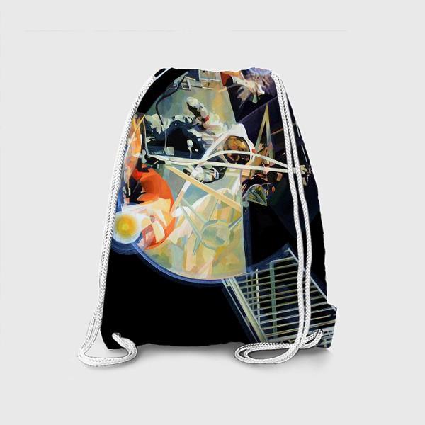 Рюкзак «Освоение космоса, лист №3»
