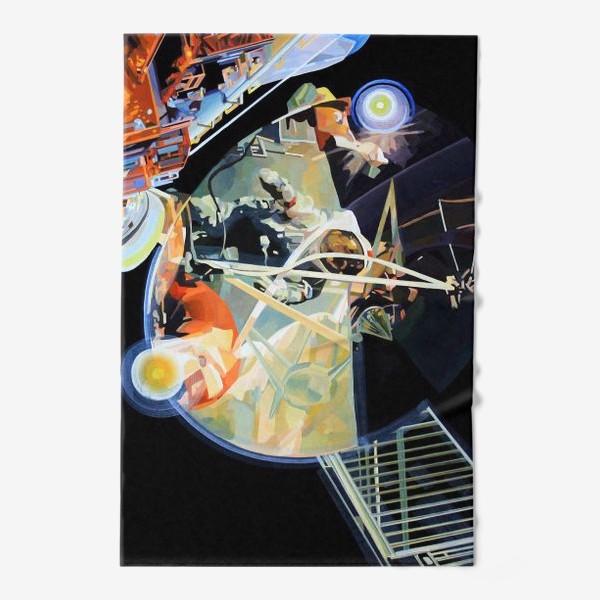 Полотенце «Освоение космоса, лист №3»