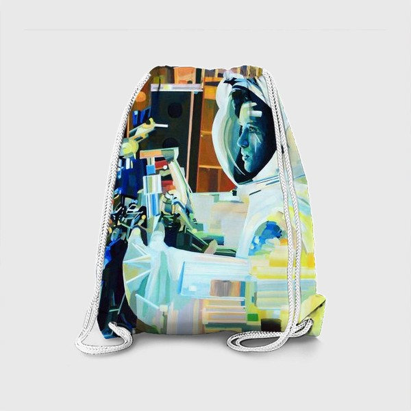 Рюкзак «Освоение космоса, лист №1»