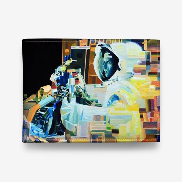 Кошелек «Освоение космоса, лист №1»