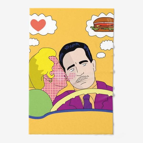 Полотенце «Любовь. Пап арт»