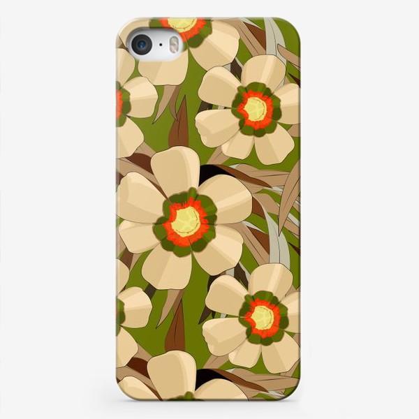 Чехол iPhone «Австралийская флора»