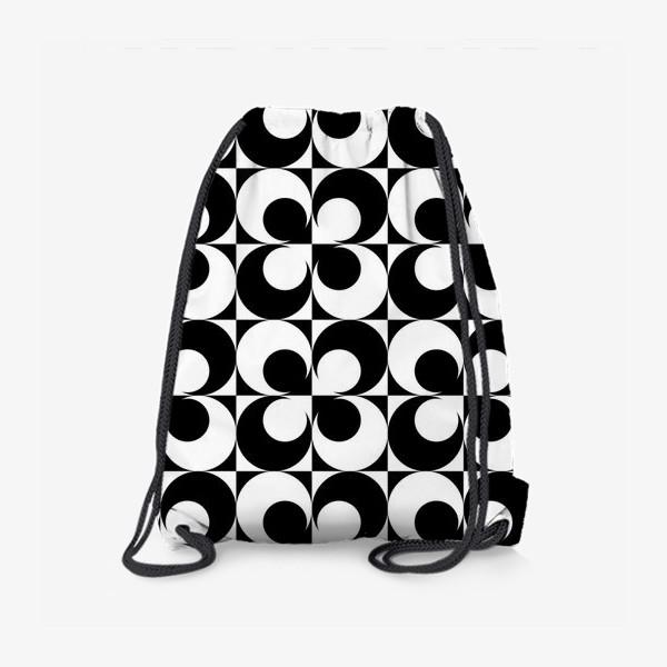 Рюкзак «Черно-белые круги»