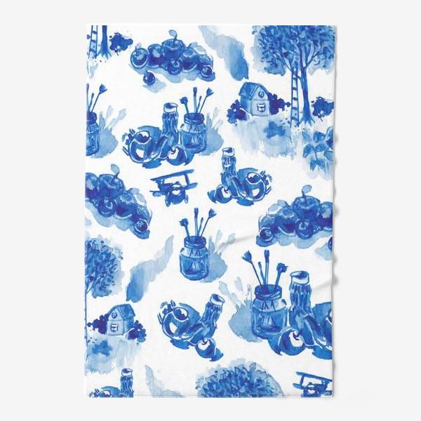 Полотенце «Лето в синих тонах»