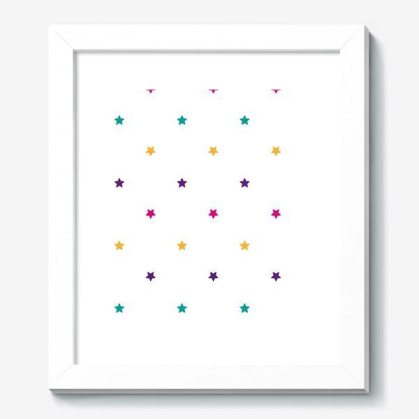 Картина «Разноцветные звезды»